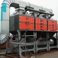 某电子厂两万风量催化燃烧废气处理设备