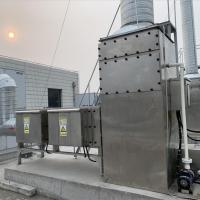 动物房实验室废气中处理工艺流程说明