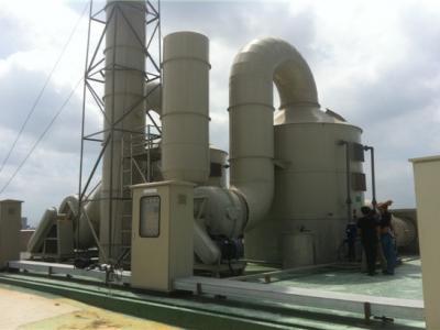 水木清橡胶硫化废气处理实例