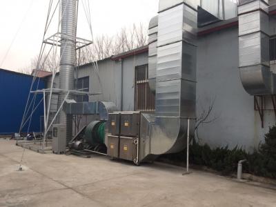 青岛印刷废气处理项目